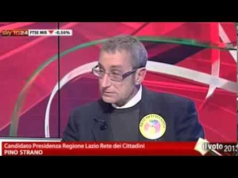 Confronto in diretta SKY Candidati Regione Lazio 2013   conduce Paola Saluzzi