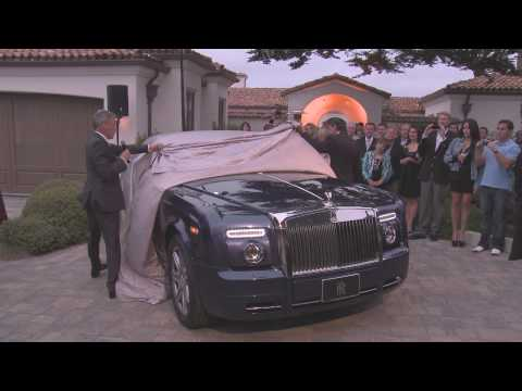 Bespoke Phantom Drophead Coupé at the Concours D'Elegance 60th Anniversary