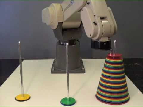 Towers of Hanoi Robot