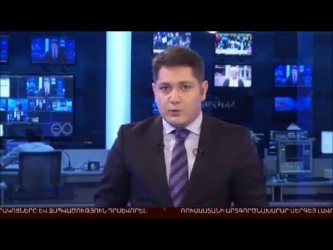 Armenia TV about Monte Melkonian Cyber Army attack on azeri govs/media sites
