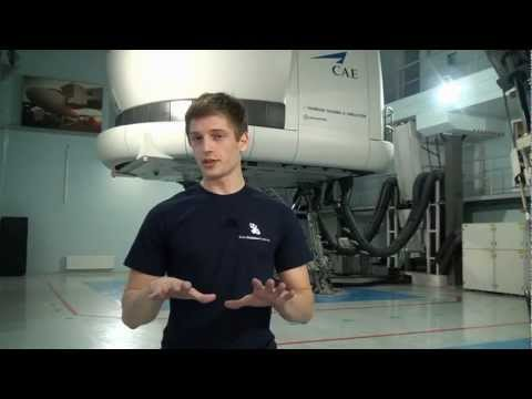 How does A320 Full Flight Simulator work? - Baltic Aviation Academy