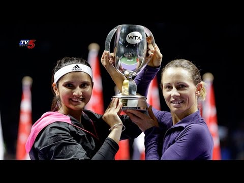Sania Mirza-Cara Black Win WTA Finals : TV5 News