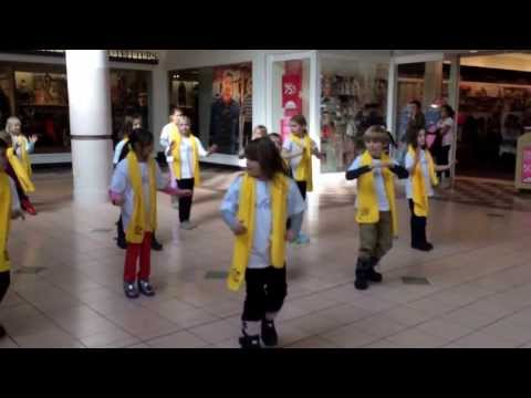 Flash Mob Fsk Mall, Brielle 3rd Grade Lucy School video
