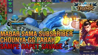 COMBO MAUT CHOU & GUSION SAVAGE - Mobile Legends Indonesia