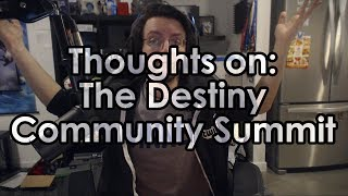 Destiny 2: Datto's Thoughts on the Destiny Community Summit