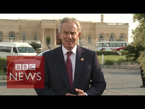 Tony Blair on whether Israel will allow aid into Gaza?  BBC News