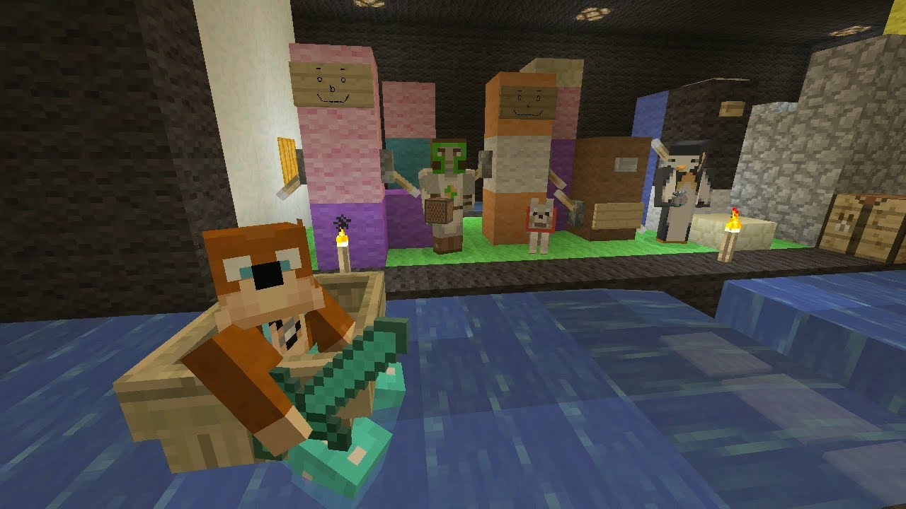 Minecraft Xbox Silly Statues 140 YouTube