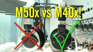 Here's Why Audio-Technica's M40x is Better Than M50x