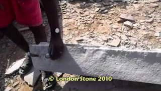 Splitting Indian Limestone