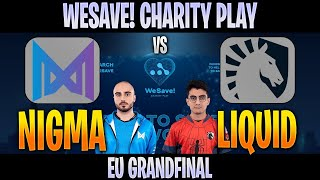 [ENG] Nigma vs Liquid | Bo5 | FINAL EU WeSave! Charity Play | DOTA 2 LIVE CAST by @D2Bowie