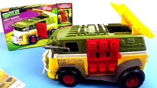 TEENAGE MUTANT NINJA TURTLES | Party Wagon Vehicle | Unboxing Videos | Toy Store - Toys For Kids