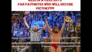 Hell In A Cell 2013 Match Cards Full Show HD