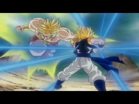 Dragon Ball Z Tenkaichi 3: -broly Ssj Vs Gogeta  - video