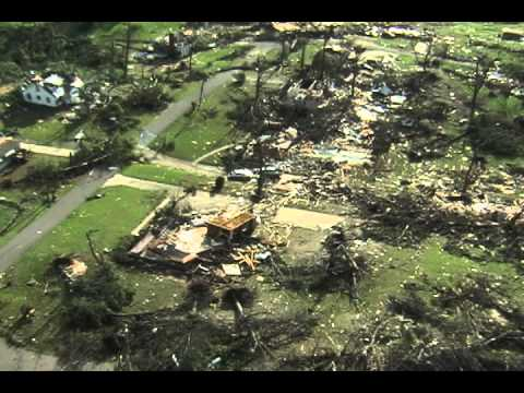B'ham Metro Tornado Damage Aerials Part 1