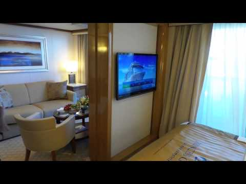 Royal Princess Penthouse Suite Video Cabin R604 video
