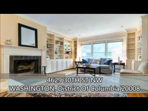 Luxury Homes in DC Properties For Sale -  4629 30TH STREET NW WASHINGTON, DC 20008