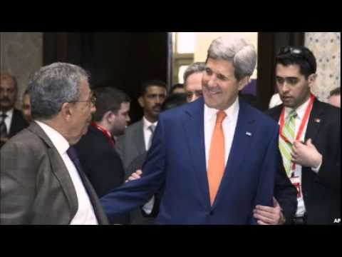 Kerry Arrives in Egypt Amid Tight Security