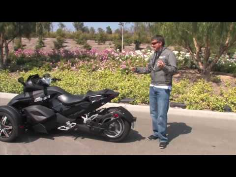 2009 Can-Am Spyder Walk Around Video