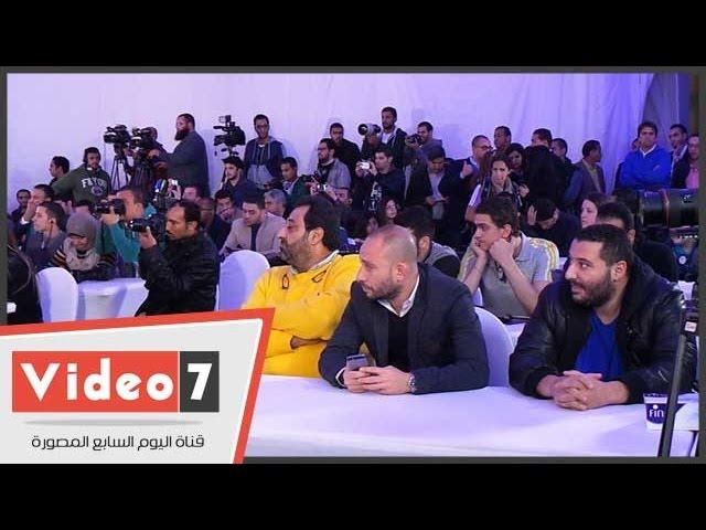 أحمد السقا ومجدى عبد الغنى أبرز حضور مؤتمر ـ«تشافى»