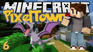 Minecraft: PixelTown Ep. 6 - AERODACTYL QUEST! (Minecraft Pixelmon Mod)