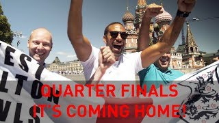 Quarter Finals: It's Coming Home! | Rio's WC18 Vlogs