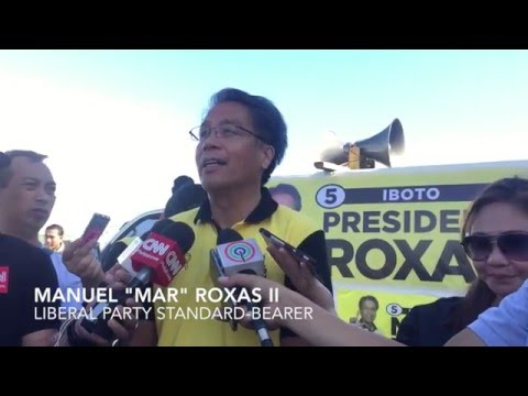 Roxas: Duterte violated law by accepting Quiboloy gift