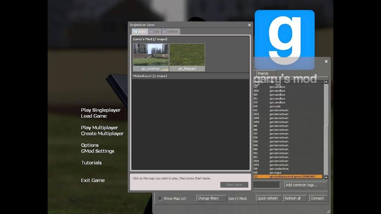 Как сделать свой сервер в garry s mod