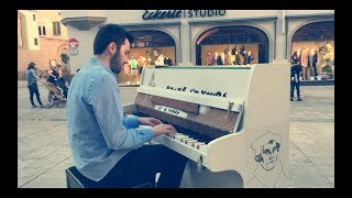 Street Piano Una Mattina Ludovico Einaudi