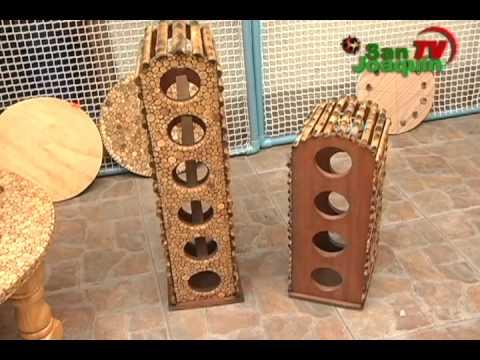 Emprendedor jorge quiroga artesania en madera youtube Artesanias en madera