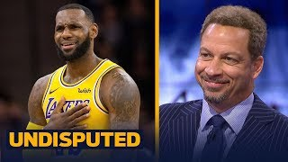 Chris Broussard says 'it's good' LeBron's frustrated at the Lakers 2-5 start | NBA | UNDISPUTED