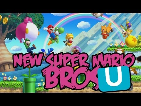 (ОБЗОР) New Super Mario Bros U - PIRATE'щина №19