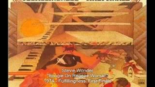 Watch Stevie Wonder Boogie On Reggae Woman video