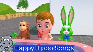 Baby family and One Little Ice Creams Childrens Nursery Rhymes & Baby Songs Happy Hippo