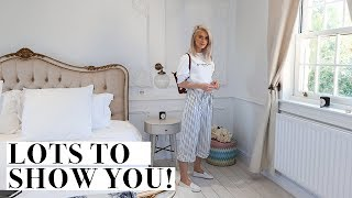 REVEALING MY NEW OFFICE + ENSUITE RENOVATIONS AND BAKING