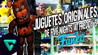 Noticia: Juguetes De Five Nights At Freddy´s Originales Funko | Mayo/2016 | Kenny El King