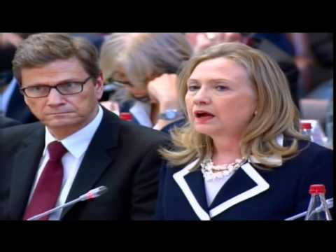 Secretary Clinton Delivers Remarks on Syria