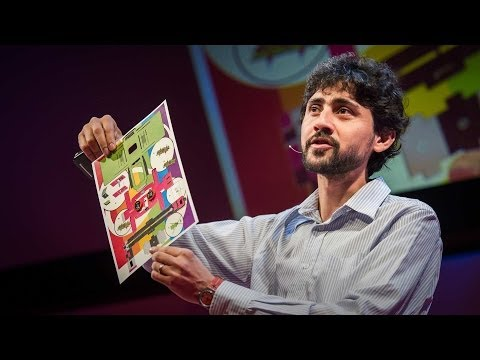 Manu Prakash: A 50-cent microscope that folds like origami