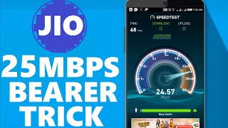 How to Increase Jio 4G Internet SPEED UPTO 25MBPS | Modded setting TRICK | HINDI