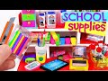 7 DIY Miniature School Supplies