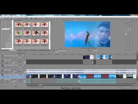 Как сделать клип в сони вегас про 11