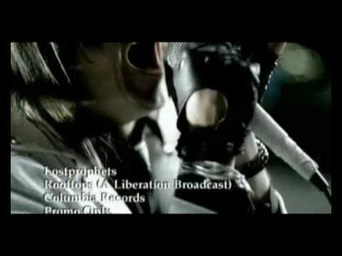 Lostprophets - Rooftops (A Liberation broadcast) OFFICIAL VIDEO