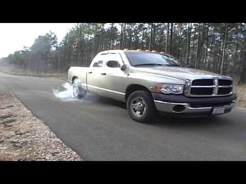 Dodge 2004 Cummins Blacksmoke Burnout Video