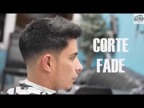 CORTE FADE PASO A PASO / DESVANECIDO PARA HOMBRE