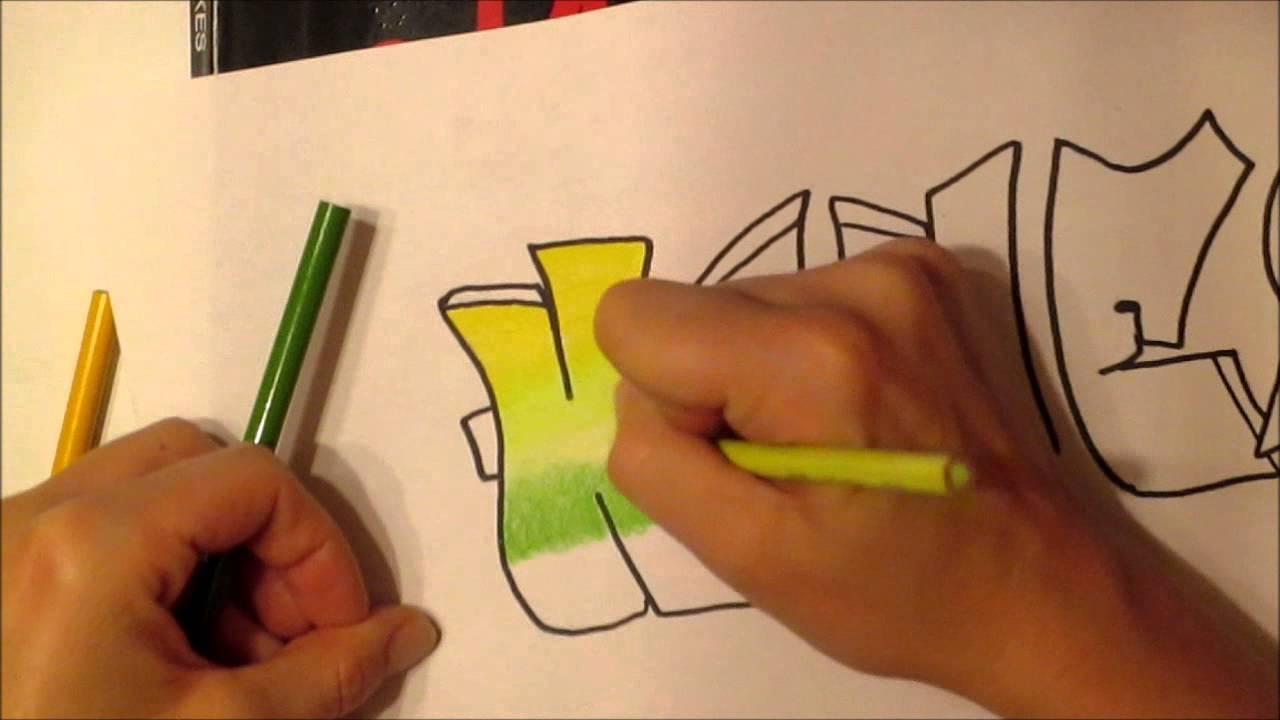 Colored Pencils Names Color Pencil Blending Graffiti