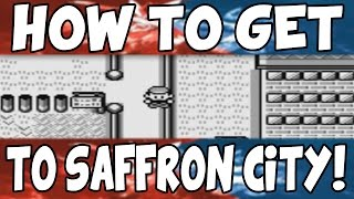 How to get to Saffron City on Pokemon Red/Blue!