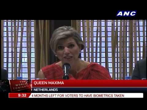 Queen Maxima campaigns for inclusive finance in PH