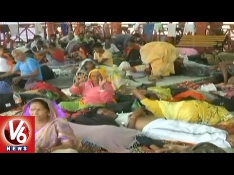 Amarnath Yatra Resumes From Pahalgam Route, Remains Suspended | V6 News