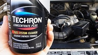Does Techron Fuel System Cleaner Actually Work? (with PROOF)