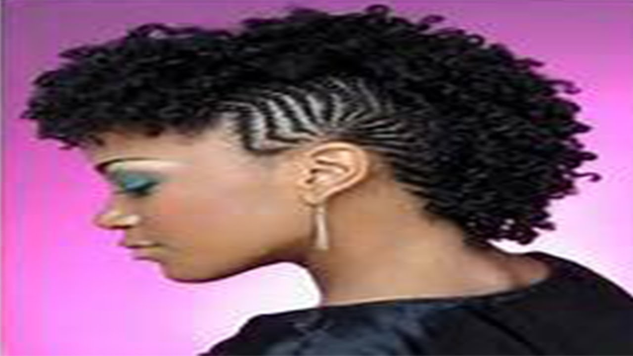 Mohawk Styles For Natural Hair Natural Hair Styling⎮textured