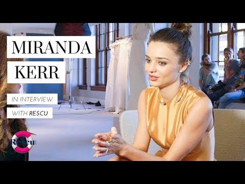 Miranda Kerr on Baby Plans, Style Tips and more